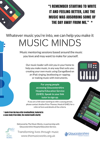 Music Minds cover