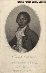 Olaudah Equiano, also known as Gustavus Vassa